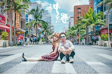 時光流域 | 沖繩婚紗客照參考