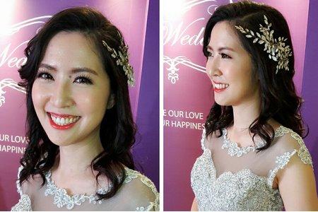 新娘為了拉拉改婚期,一定要讓你美的像明星