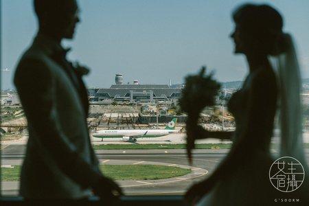 華航諾富特飯店|離出國最近的距離|婚禮紀錄