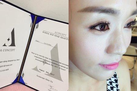 正統韓國女星藝人彩妝-新娘秘書郁馨