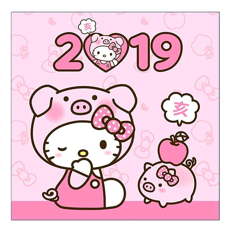 金豬Hello Kitty齊迎福