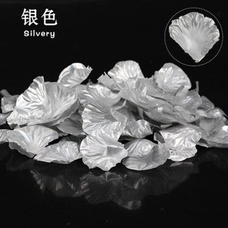 銀色玫瑰花瓣每包100片
