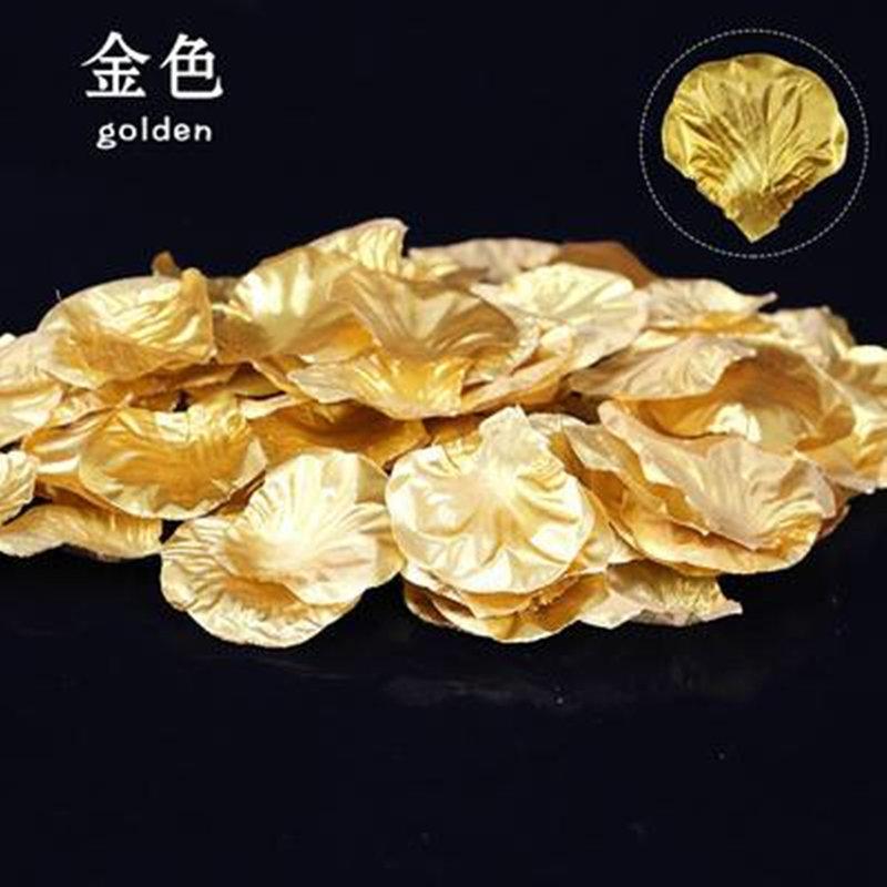 金色玫瑰花撒每包100片