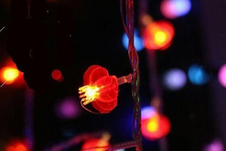 紅燈籠LED燈串裝飾燈 餐廳 店面佈置
