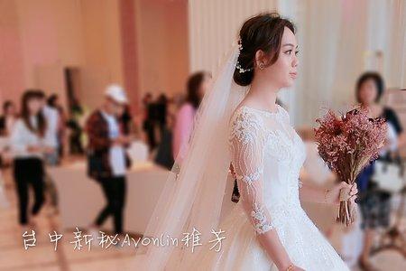 107/10/20靖涵結婚午宴造型側拍