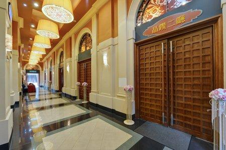 二樓廊道-婚禮接待區