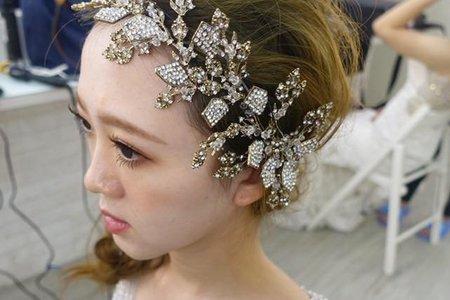 新娘造型*抽絲空氣感*