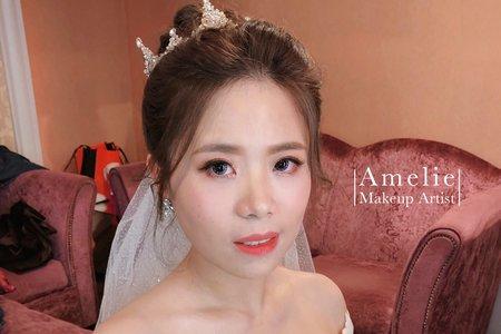 |婚禮造型|華麗皇冠高盤髮 <大直典華>