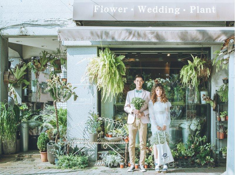 台南希臘風情婚紗館