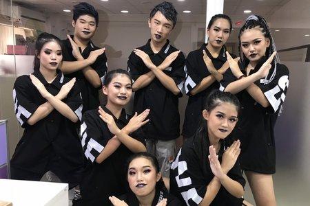 舞蹈團體梳化-雷鬼妝髮