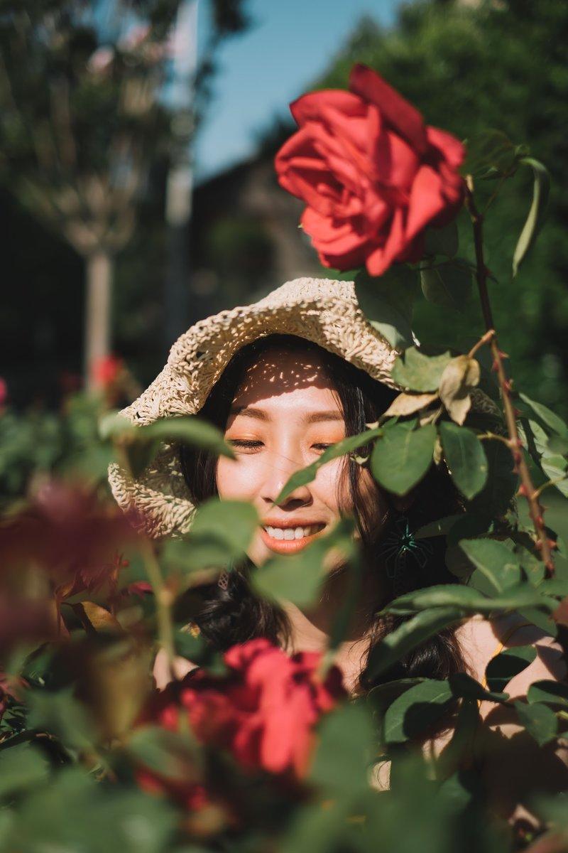 有如花中精靈般~可愛