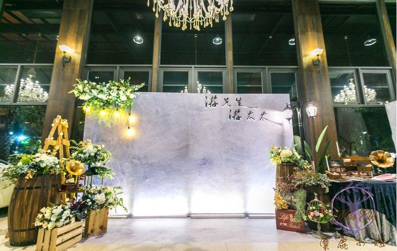 麋鹿小姐婚禮佈置/道具出租/婚禮背板