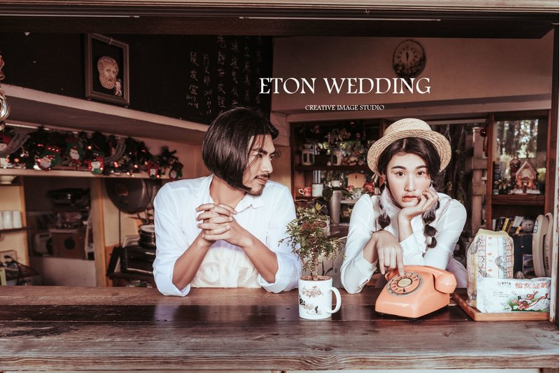 伊頓自助婚紗 ▌台北高雄桃園新竹台南