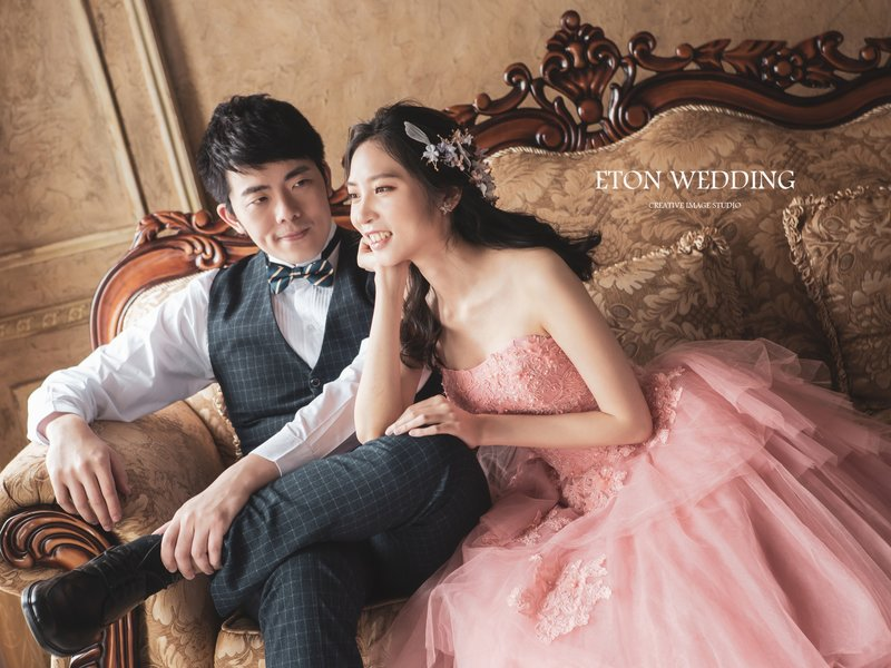 這顏色帶有少女甜美溫柔的感覺,穿上粉色禮服宛如小公主一樣甜美浪漫。