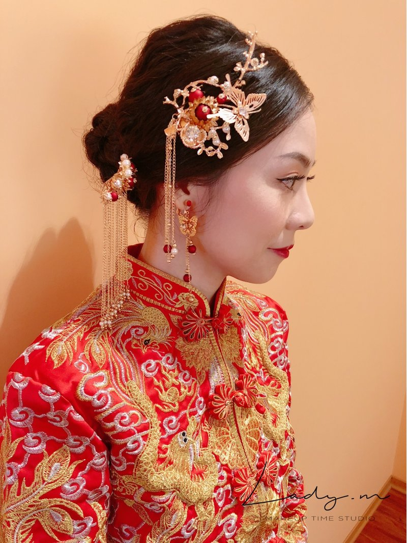 LadyM化妝時間•Mia makeup