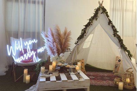 求婚道具 派對道具 露營風道具
