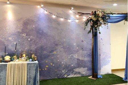 證婚拱門套組租借、專人到場鮮花拱門