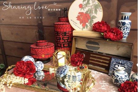 中式流金系列桌面道具