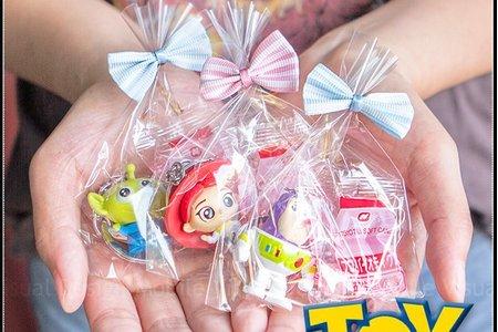 精巧包玩具總動員鑰匙圈+益生菌軟糖