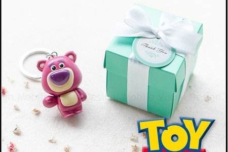 T盒裝玩具總動員鑰匙圈(款式隨機出貨)