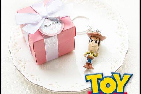 Pink盒裝玩具總動員鑰匙圈(款式隨機)