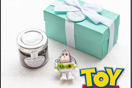 Tiffany盒玩具總動員鑰匙圈+果醬