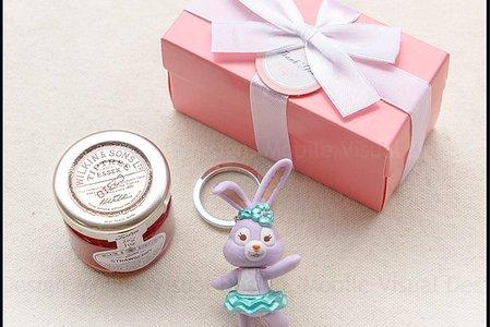 K盒達菲雪莉玫史黛拉兔鑰匙圈+果醬小禮盒