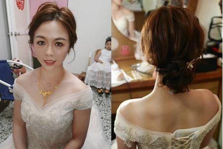 韓風簡約婚禮造型