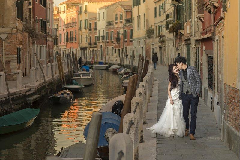 蜜月、拍婚紗、海外婚紗、義大利、威尼斯