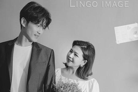 【韓式婚紗】韓系棚拍。輕婚紗_雜誌風