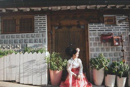 【韓國首爾街拍】婚紗Ι韓服Ι輕婚紗/旅行婚紗
