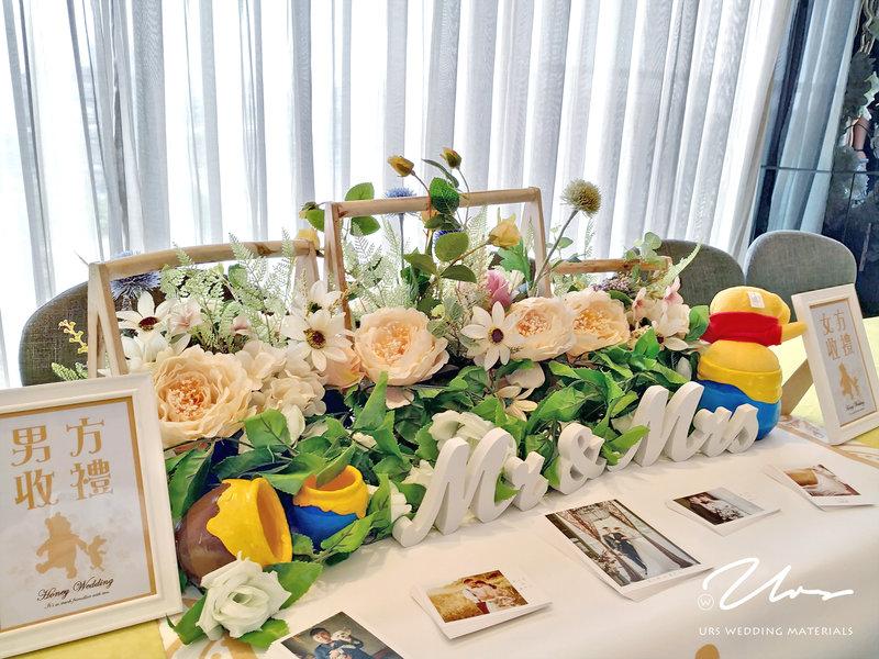 小熊維尼 主題婚禮佈置作品