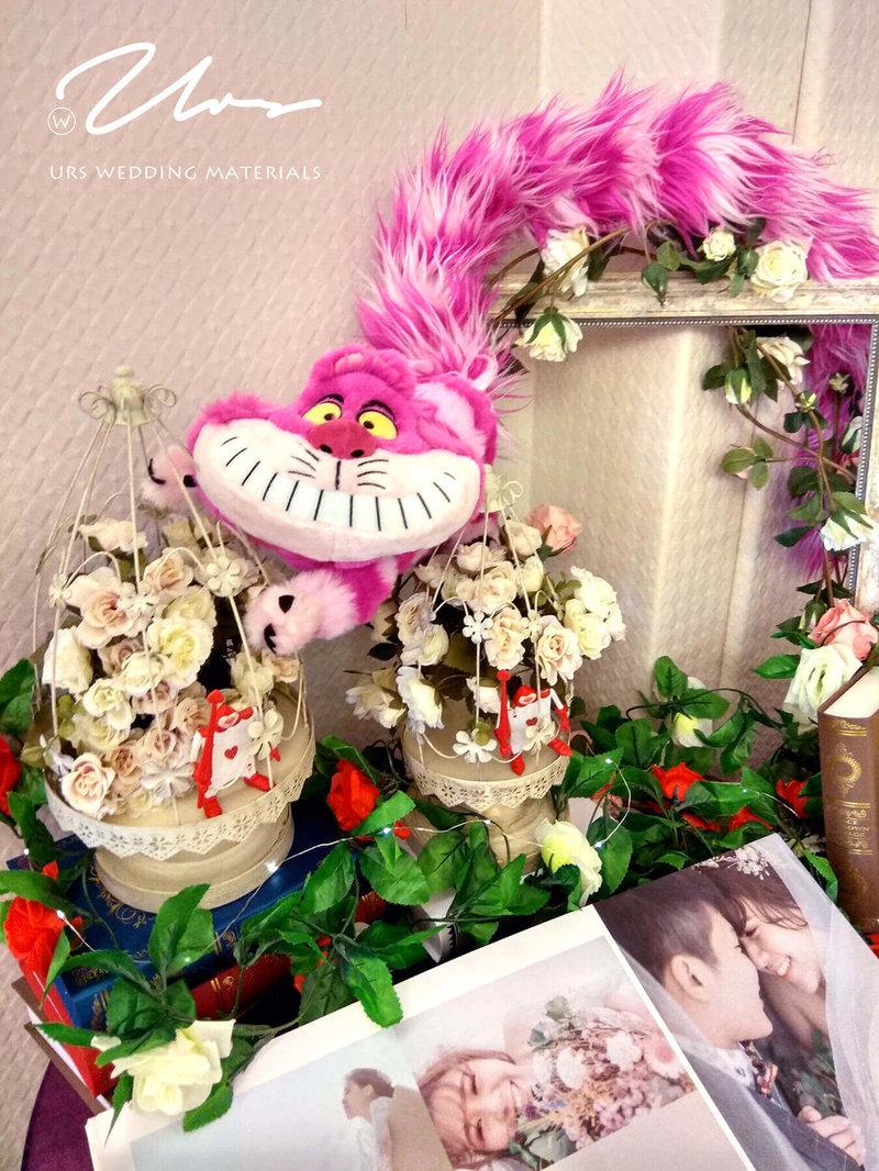 愛麗絲|主題婚禮佈置作品