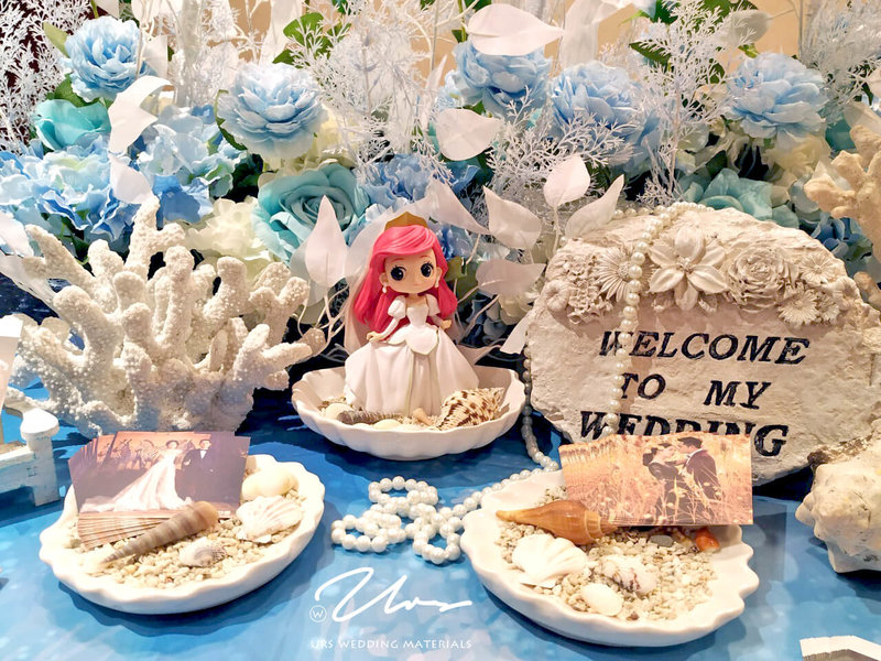 小美人魚 主題婚禮佈置作品
