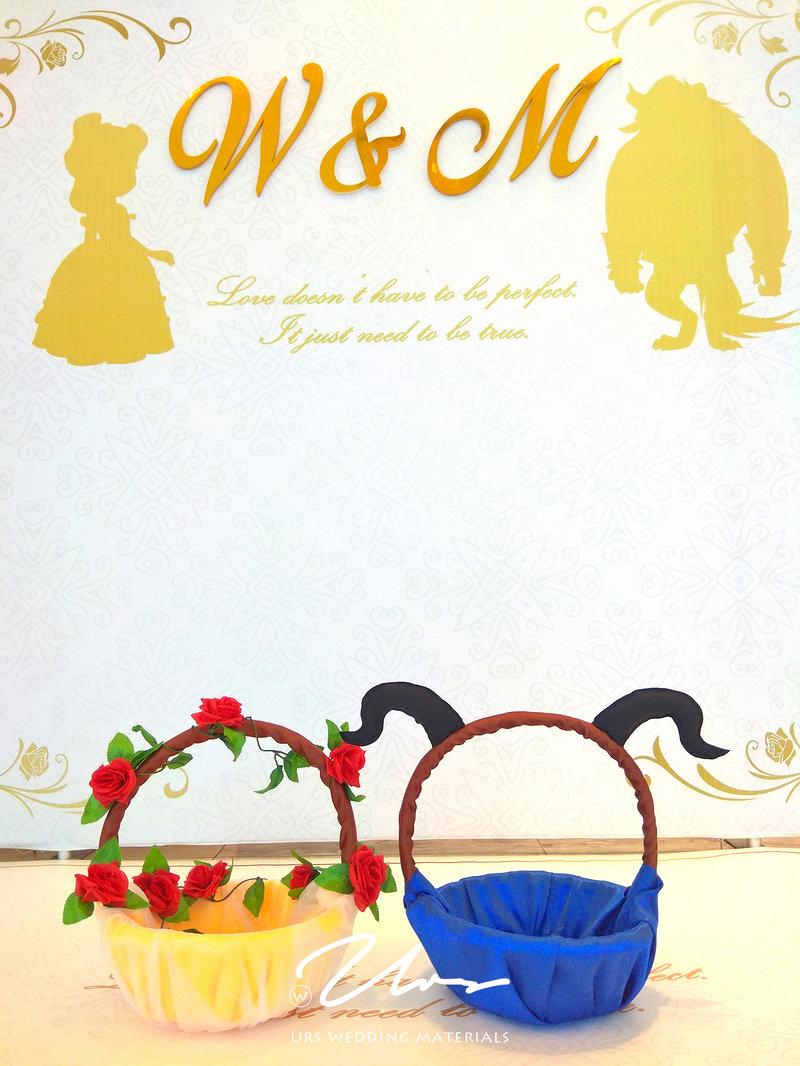 美女與野獸|主題婚禮佈置作品