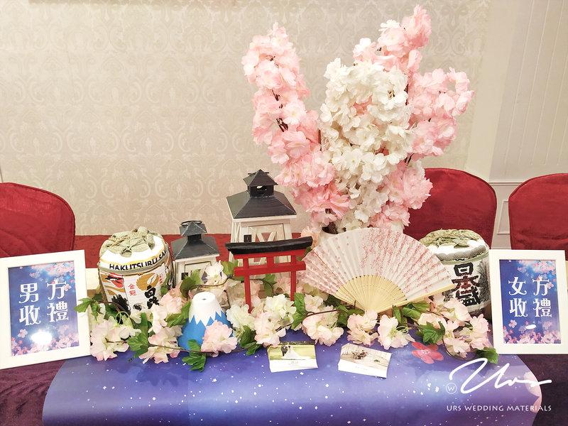 櫻花下的約定 主題婚禮佈置作品