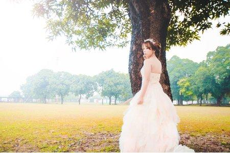 👑婚紗造型作品