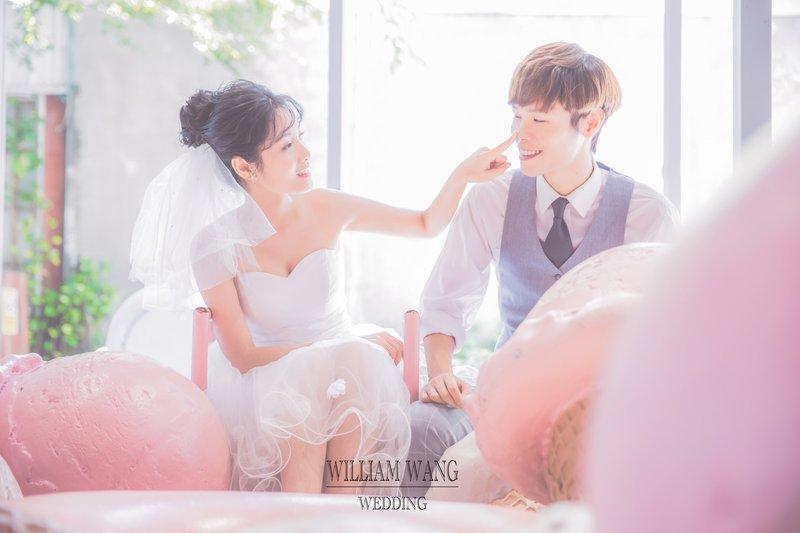 韓式清新情侶照