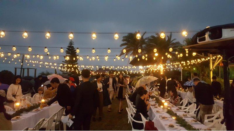 戶外婚禮、海景、婚宴會館、婚宴場地、晚宴