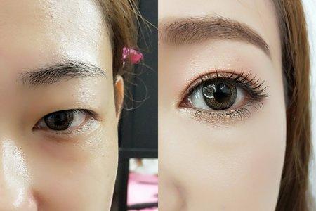 調整眼型(定妝新娘)
