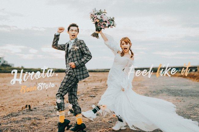 J2 wedding 板橋 中壢(美式韓風自然)北海岸