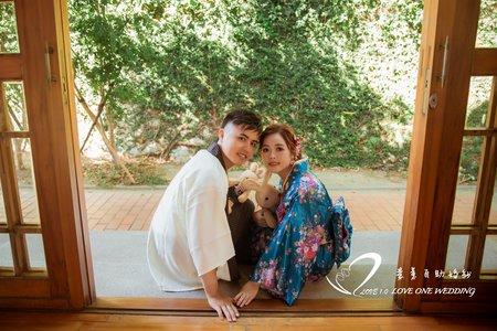 高雄婚紗|自助婚紗|傳統浴衣拍攝|愛意婚紗