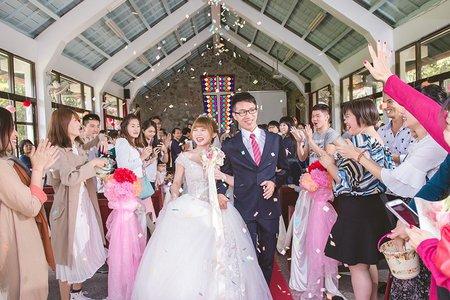 [花蓮婚禮紀錄] 聖林 & 珍瑋 - 教堂證婚