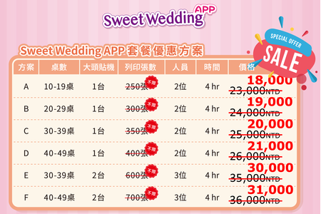Sweet Wedding App