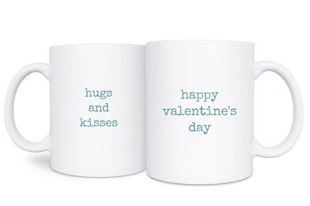 白瓷馬克杯-對話文字
