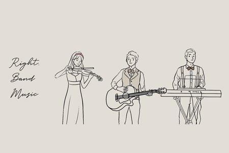 Vintage質感婚禮樂團