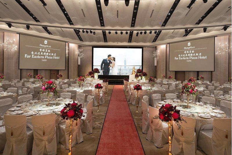 香格里拉台北遠東全新改裝宴會廳 擁有全台北五星飯店最大內建LED巨型螢幕