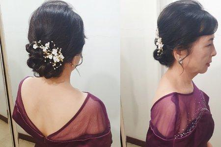 婆婆妝髮造型