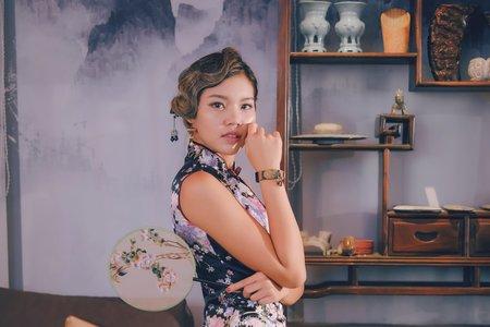 旗袍復古風