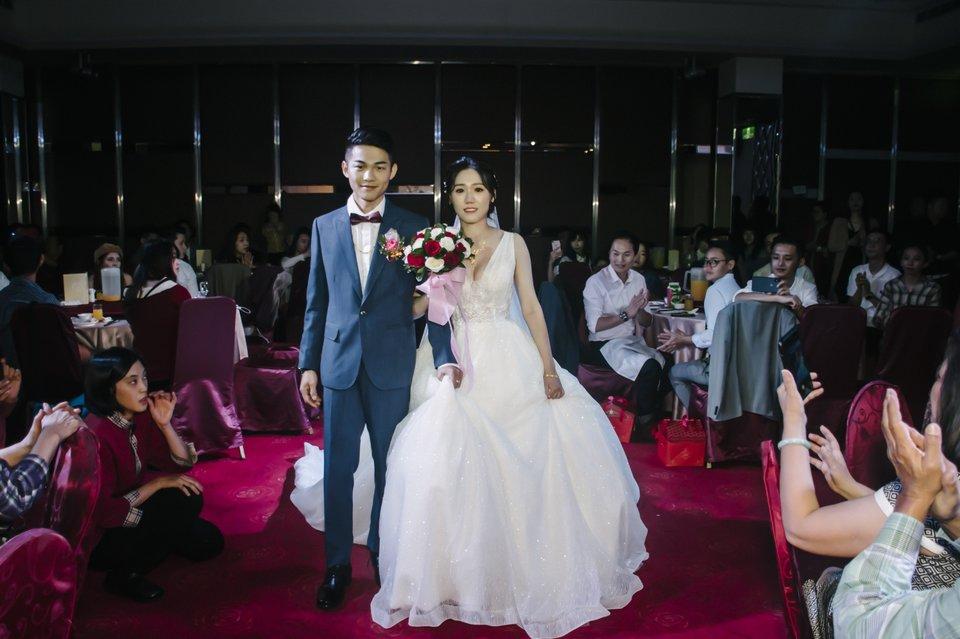 喜綻婚禮攝影,拍攝的非常好